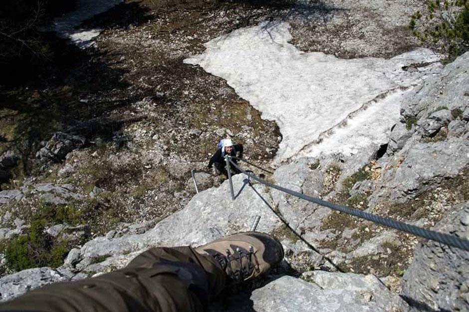 Eisenerzer Klettersteig : Albert milde eisenerzer klettersteig: 2 11 internetbild