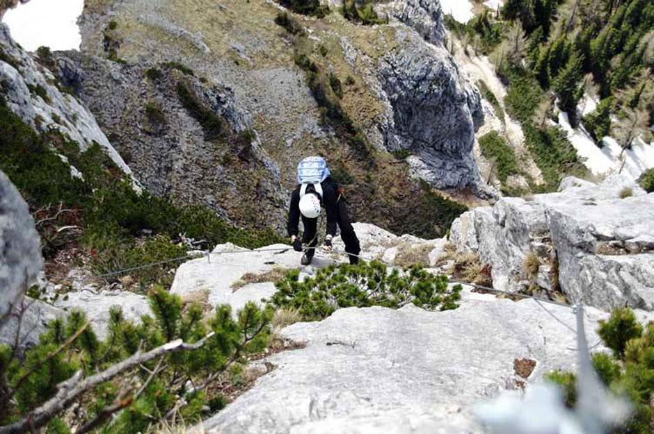 Eisenerzer Klettersteig : Albert milde eisenerzer klettersteig: 7 11 internetbild